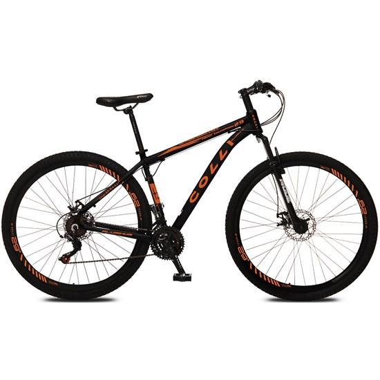 Bicicleta Colli Aro 29 21M Alum Atalanta Preto Fosco Lar.Neon