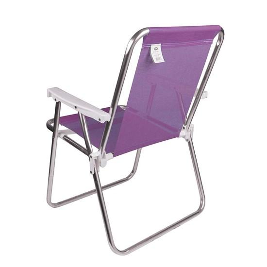 Cadeira Alta Alumínio Sannet Mor Lilas