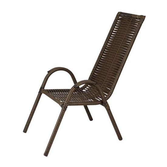 Cadeira Canadá Encapada Famais Argila
