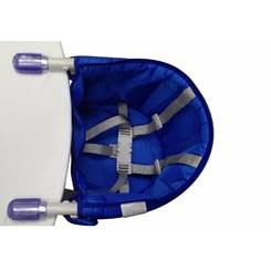 Cadeira De Alimentação Para Mesa Lisa Azul