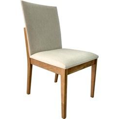 Cadeira De Madeira Sala De Jantar Niki Capuccino