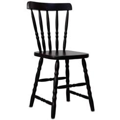 Cadeira De Madeira Torneada Tebas Tabaco