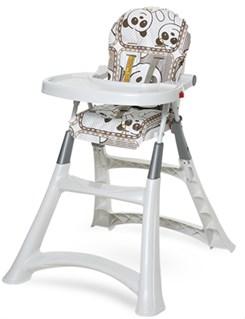 Cadeira De Refeição P/Bebê Alta Premium Panda