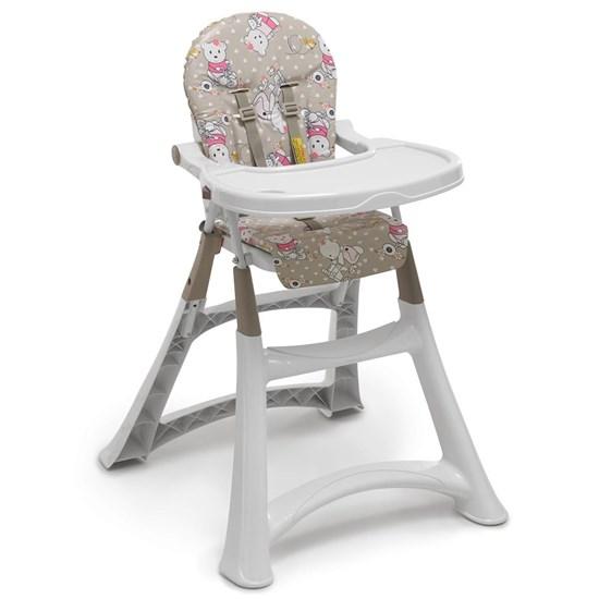 Cadeira De Refeição P/Bebê Alta Premium Ursinha