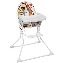 Cadeira De Refeição P/Bebê Alta Standard Girafas