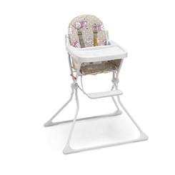 Cadeira De Refeição P/Bebê Alta Standard Ursinha