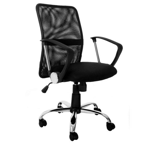 Cadeira Diretor Confort Tela Mesh Preto