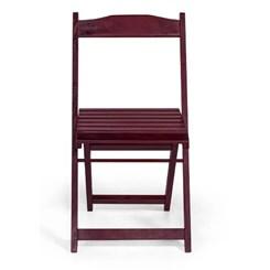 Cadeira Dobrável Em Madeira Pellas Imbuia