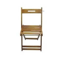 Cadeira Dobrável Em Madeira Pellas Mel