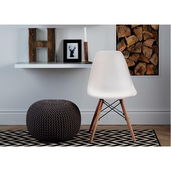 Cadeira Eames Sem Braço Branco
