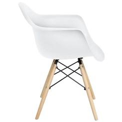 Cadeira Eiffel Com Braços Mor Branco