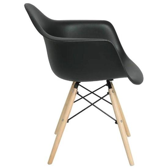 Cadeira Eiffel Com Braços Mor Preto