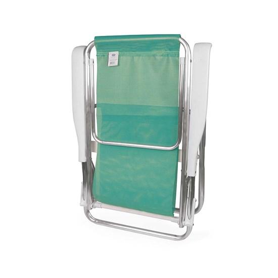 Cadeira Reclinável Alumínio 8P Sannet Verde