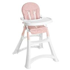 Cadeira Refeição Galzerano Alta Premium Rosa