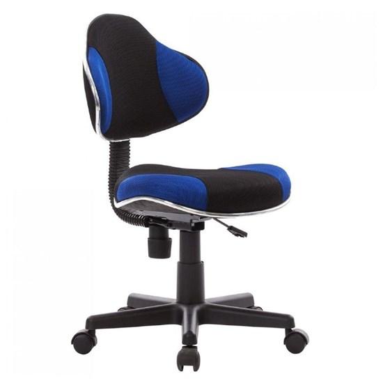 Cadeira Secretária Anatômica Bulk Preto - Azul