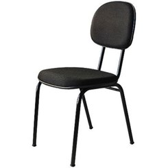 Cadeira Secretária Fixa Preto