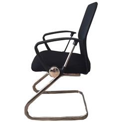 Cadeira Visitante Comfort Bulk Preta