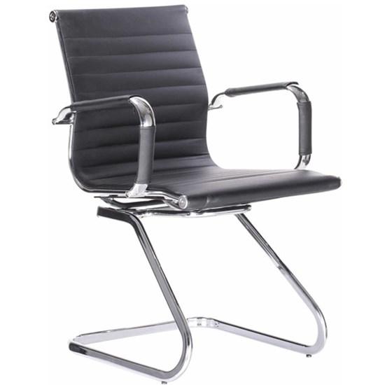 Cadeira Visitante Office Bulk Preta