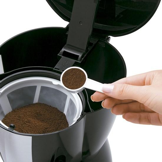 Cafeteira Britânia Cp38 Inox 38 Xícaras Preto