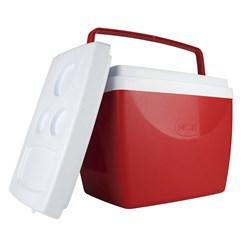 Caixa Térmica 34 Litros Vermelho