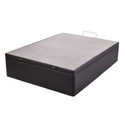 Cama Box Baú Smart 138 X 188 X 44 Preto