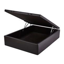 Cama Box Casal 138X188x44cm Baú Smart Preto