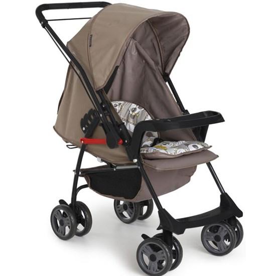 Carrinho De Bebê Milano Reversível Ii Preto Panda