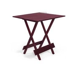 Conjunto De Mesa Dobrável Com 4 Cadeiras Pellas Imbuia