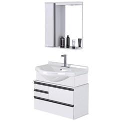 Conjunto Para Banheiro Firenze 83,5 Cm Branco