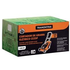 Cortador Grama Ce35p Chassi Plástico Preto Laranja