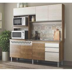 Cozinha Compacta Diana Siena Ártico