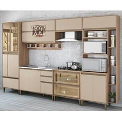 Cozinha New Atena 7 Peças Vidro Reflecta