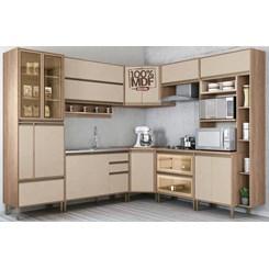 Cozinha New Atena 9 Peças Vidro Reflecta