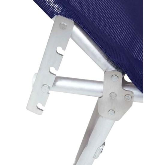 Espreguiçadeira Alumínio Mor Azul