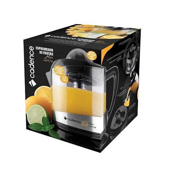 Espremedor De Frutas Max Juice Esp801 Preto