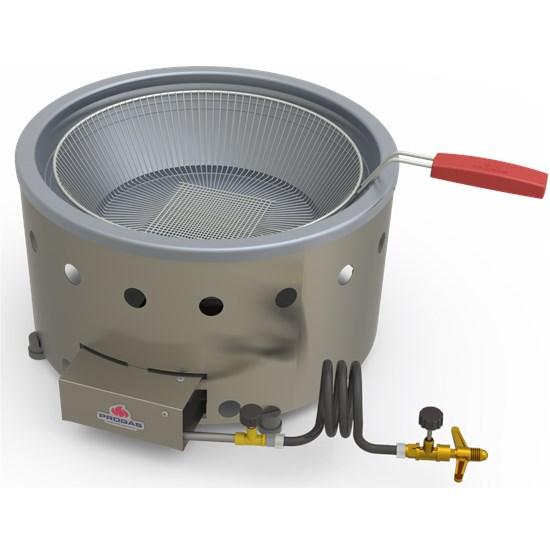 Fritadeira Industrial À Gás Progás 7L Inox