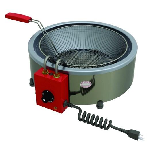 Fritadeira Industrial Elétrica Progás 7L Inox
