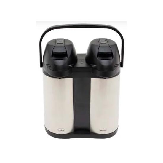 Garrafa Térmica Airpot Mor Dupla 3,8L Inox