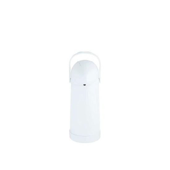Garrafa Térmica De Pressão Nobile 1,0L Branco