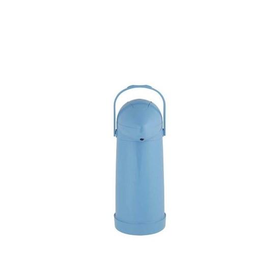 Garrafa Térmica Pressão Nobile 1,0L Mor Azul
