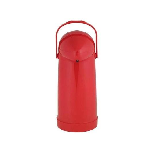 Garrafa Térmica Pressão Nobile 1,0L Mor Vermelho