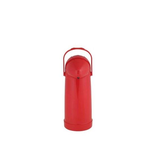 Garrafa Térmica Pressão Nobile 1,0L Vermelho