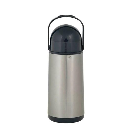 Garrafa Térmica Pressão Nobile Inox 1,0L Inox