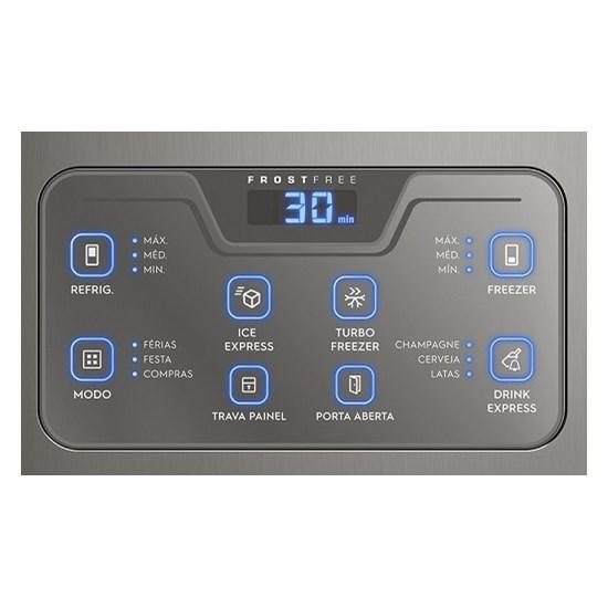 Geladeira 454L 2P Db53x Frost Free Inox