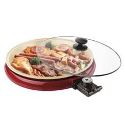 Grill Multi Ceramic Pan Cadence Vermelho