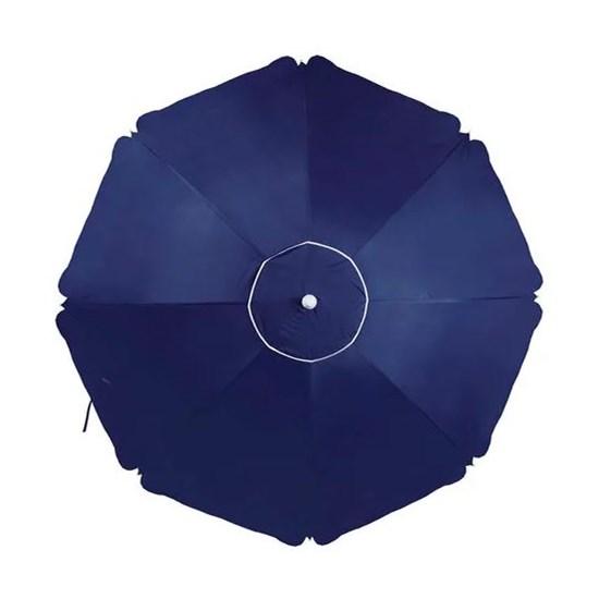 Guarda Sol Aluminio Polisester 2,60M Mor Azul