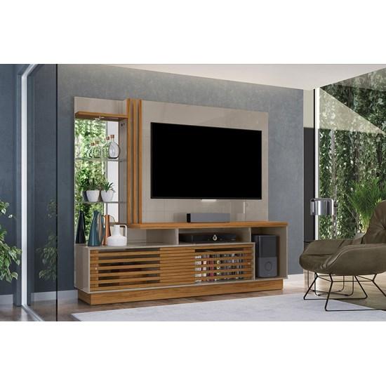 Home Theater Frizz Plus Madetec Tv 60P Fendi/Naturale