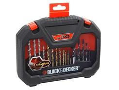 Jogo Furar E Pararafusar Black Decker Preto