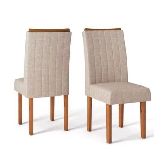 Kit Com 2 Cadeiras Celina Rust Terrara/Linho S