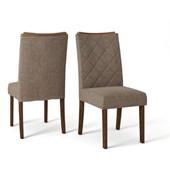 Produto Kit Com 2 Cadeiras Golden Rust Malbec/Linho Br